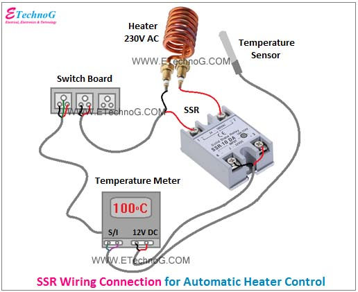 SSR Wiring Connection Diagram