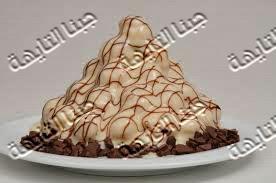 طريقة عمل صوص الشوكولاته البيضاء White chocolate sauce