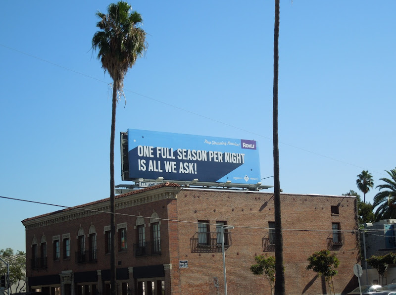 all we ask Roku billboard