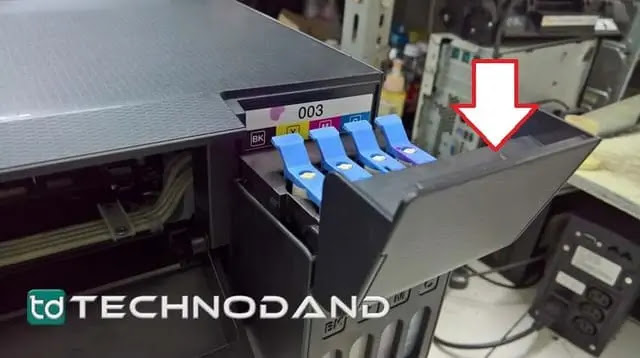 Cara bongkar casing atas printer Epson L1110