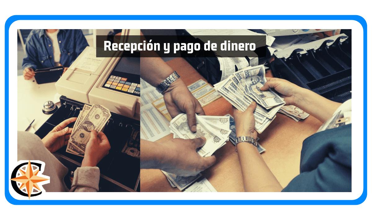 Recepción y Pago de Dinero de un Cajero Bancario