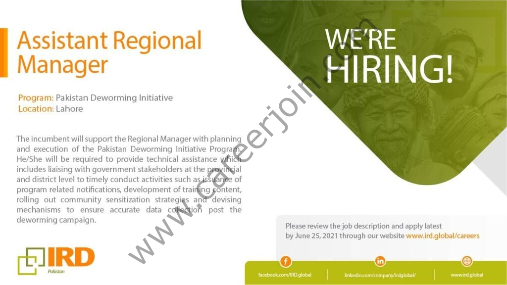 Interactive Research & Development IRD Jobs 2021 in Pakistan