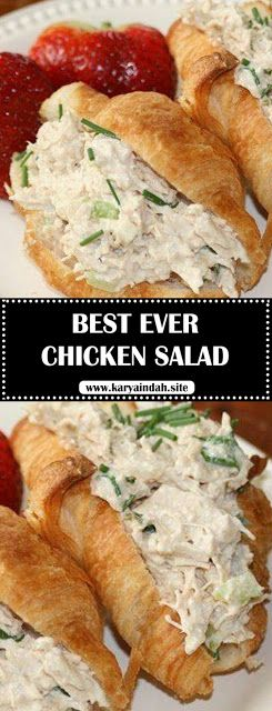 Look no further, the flavor and texture of this chicken salad will have you coming back for more!