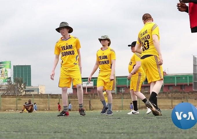 Meet Kenya's first albino soccer team doing wonders on the field