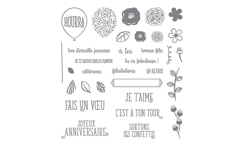 Stamp By Laurence Video De Cartes Joyeux Anniversaire Beaute