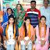 गुरू पूर्णिमा के पावन मेधावी छात्राओं को किया सम्मानित