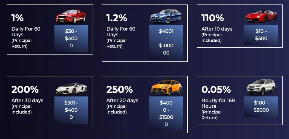 Инвестиционные планы Zoom Cars Auto