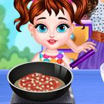 لعبة طبخ بنات صغار