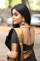 Poorna in Cute Backless Choli Saree Stunning Beauty at Avantika Movie platinum Disc Function ~  Exclusive 028.JPG