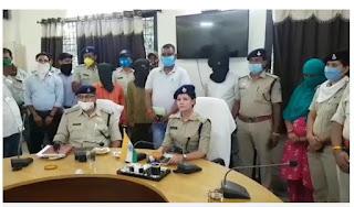 ADJ त्रिपाठी हत्याकांड के सभी आरोपी कोर्ट में पेश, 4 अगस्त तक पुलिस रिमांड पर भेजा