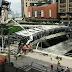 (Video & Foto) Jambatan MidValley Runtuh