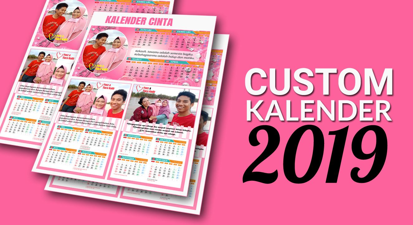 Konsep 54+ Desain Kalender 2020 Keren