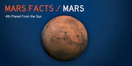 25+ important interesting facts related to Mars