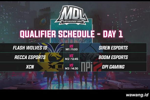 Hasil Pertandingan MDL ID Season 1