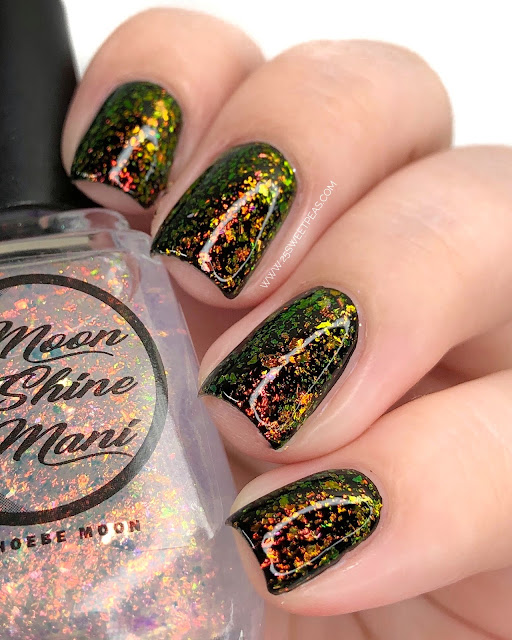 Moon Shine Mani I Saw The Shine 25 Sweetpeas