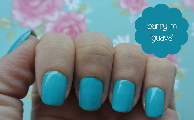 barry m guava gelly nail paint