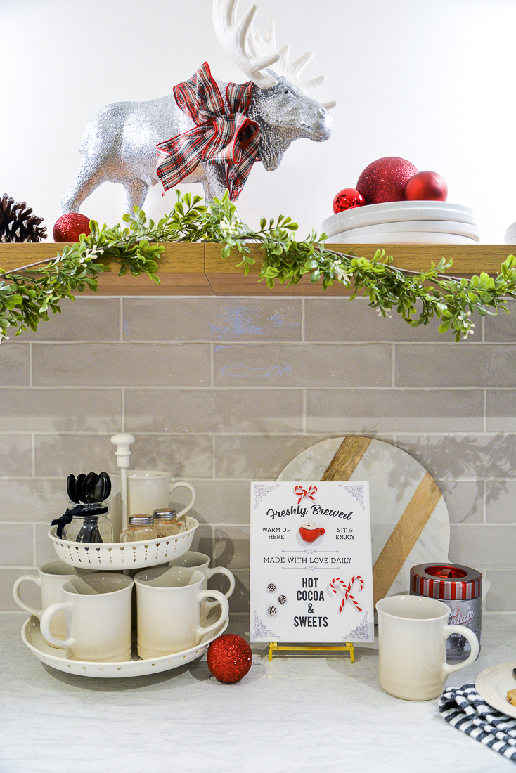 hot cocoa sign, hot cocoa sign printable, 3d hot cocoa sign