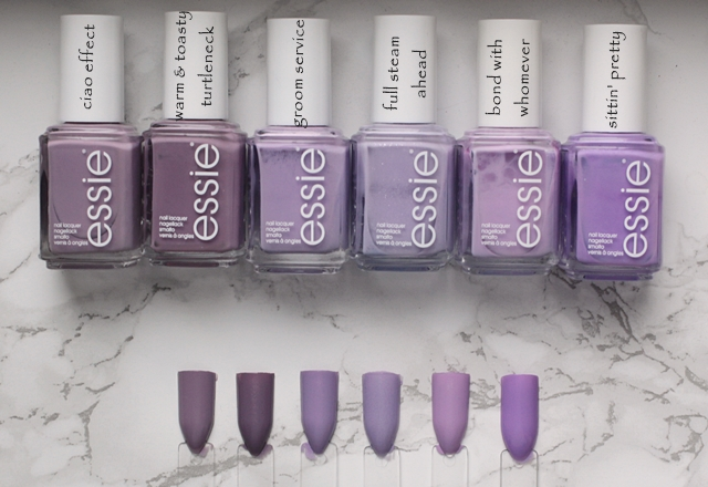 essie - Resort 2017 LE ciao effect Vergleiche comparison