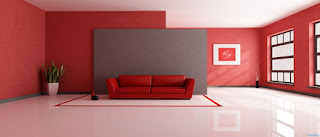 Apartment Painted Red
