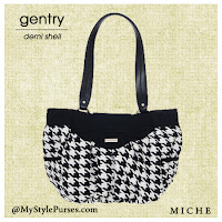 Miche Gentry Demi Shell - Houndstooth Purse