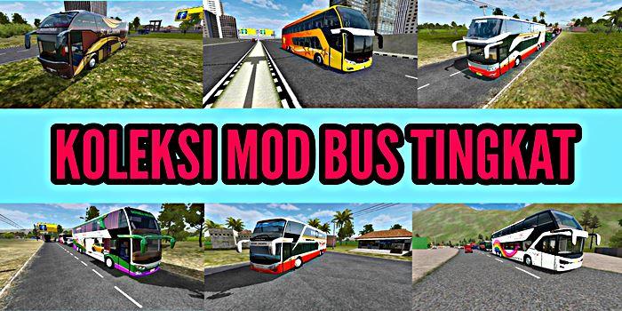 download mod bus tingkat bussid