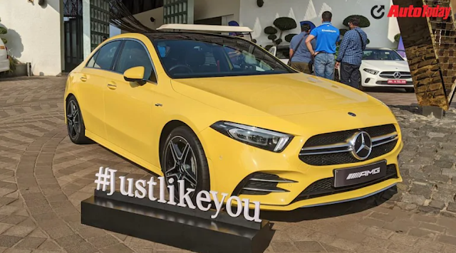 Alongside made in India launch of the new Mercedes-Benz A-Class on march 25