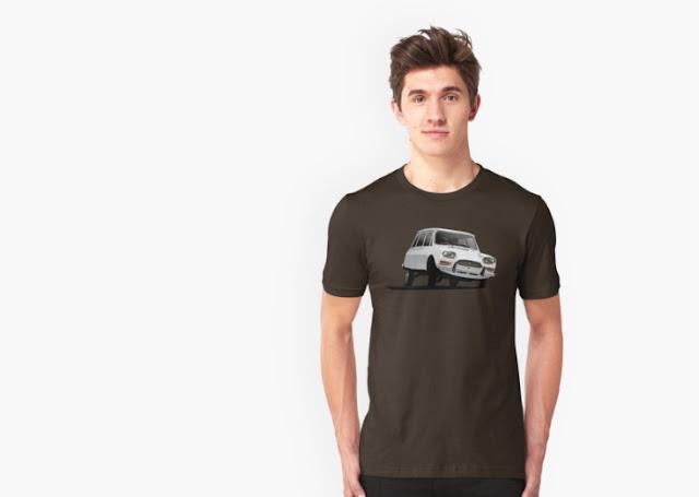 Citroën Ami 8 t-shirt redbubble gift