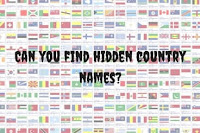 Hidden country names Quiz Questions