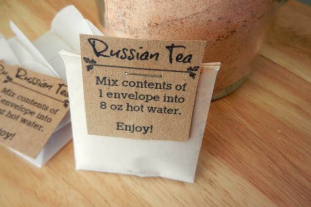 single-serve wassail (russian tea) mix