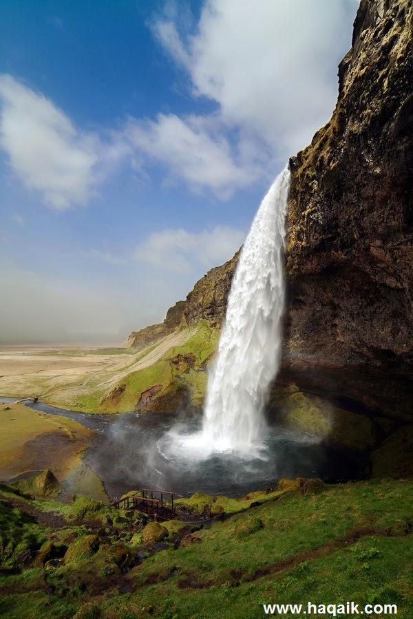 شلال Seljalandsfoss  l اجمل الشلالات في العالم e705dd80-2bdd-4c59-a