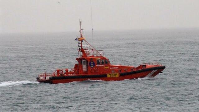 Salvamento marítimo ya ha rescatado a varios inmigrantes fallecidos en la costa de Lanzarote, canarias