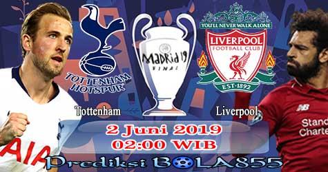 Prediksi Bola855 Tottenham vs Liverpool 2 Juni 2019