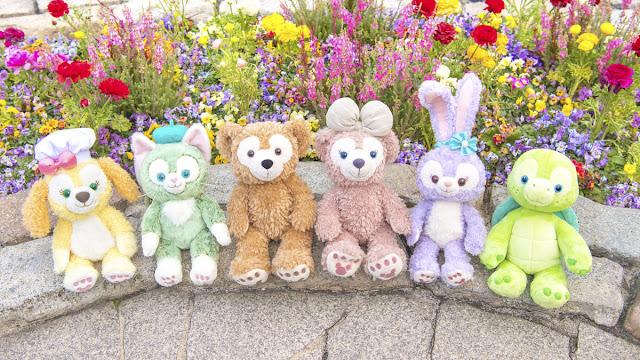 Duffy and Friends,  'Olu Mel, ShellieMay, Gelatoni, StellaLou, CookieAnn, Disney, Disney Parks, Reopen, It's time for Magic, 重開, Believe in Magic, 東京迪士尼樂園, 東京迪士尼海洋, Tokyo Disneyland, Tokyo DisneySEA