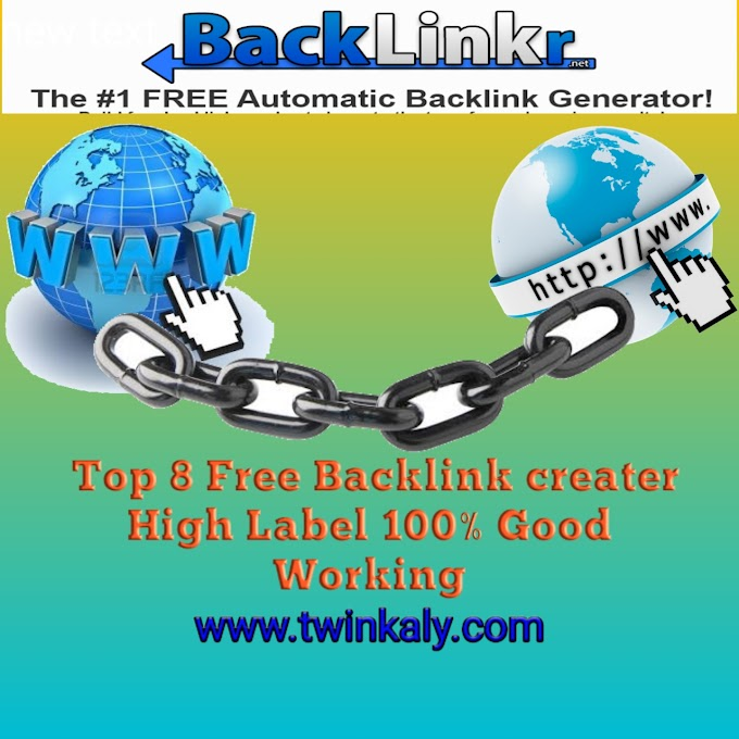 BackLink Maker Free High Authroty