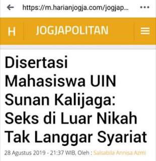 Kampus Berlabel Islam Khas Nusantara