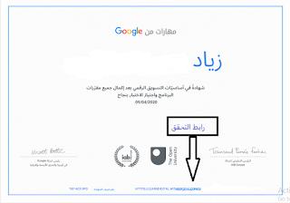 تعريف التسويق ,مبادئ التسويق,أهمية التسويق ,التسويق الرقمي من جوجل,أهم شهادة مجانية من غوغل وبعض التفاصيل عنها