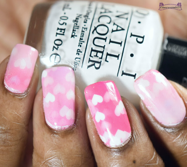 Lady Queen Love Heart Water Decals