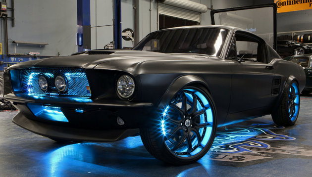 Microsoft Mustang How Cars Would Look If The Giant Ran Detroit