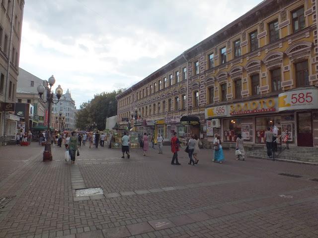 Vieja Arbat un imprescindible en Moscú