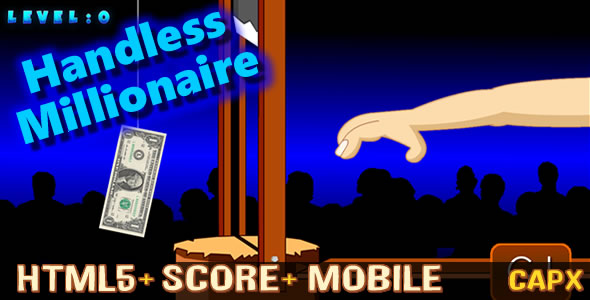 Handless Millionaire (.CAPX) New! HTML5