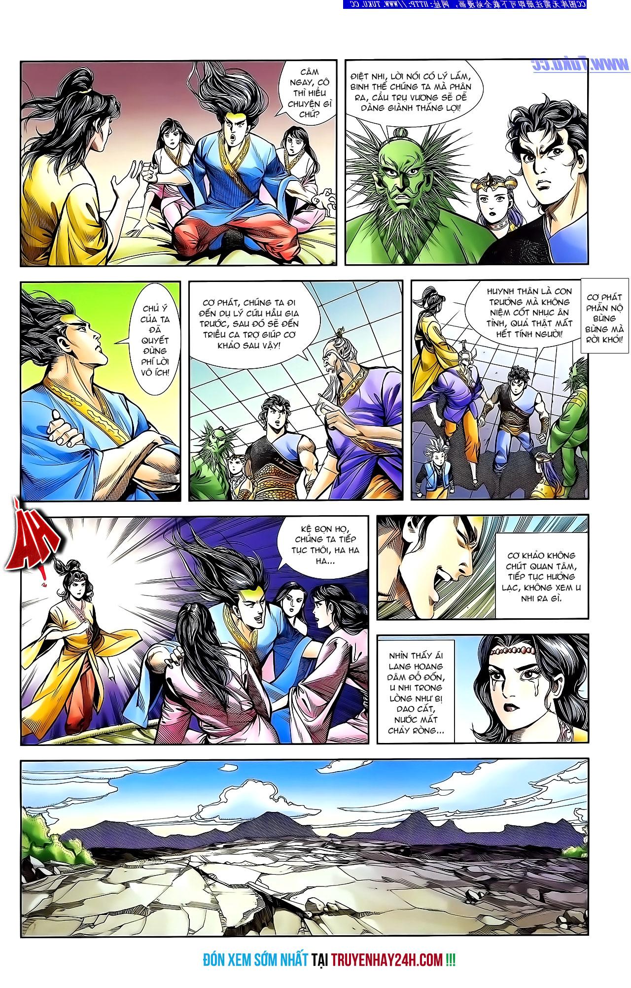 Cơ Phát Khai Chu Bản chapter 132 trang 29