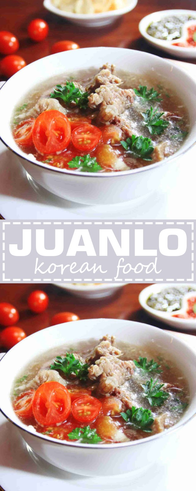 JUAN LO : Korean Food