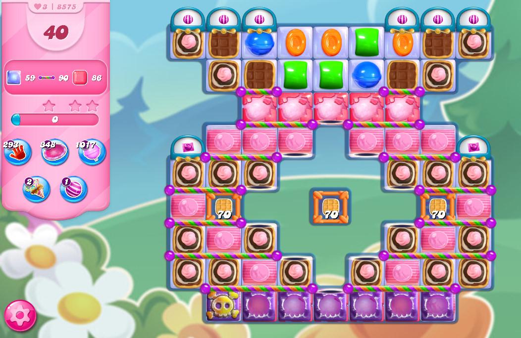 Candy Crush Saga level 8575