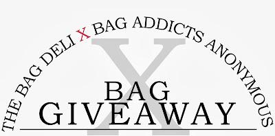 Newsflash: Bag Addicts Anonymous x The Bag Deli Bag Giveaway!