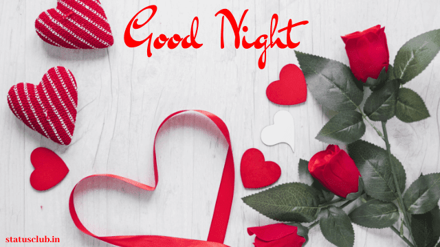 good night with love images