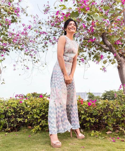 Rashmika Mandanna 5K Wallpaper