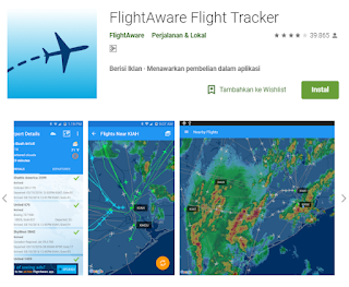 Aplikasi Pemantau Rute Penerbangan Secara real-Time di Android