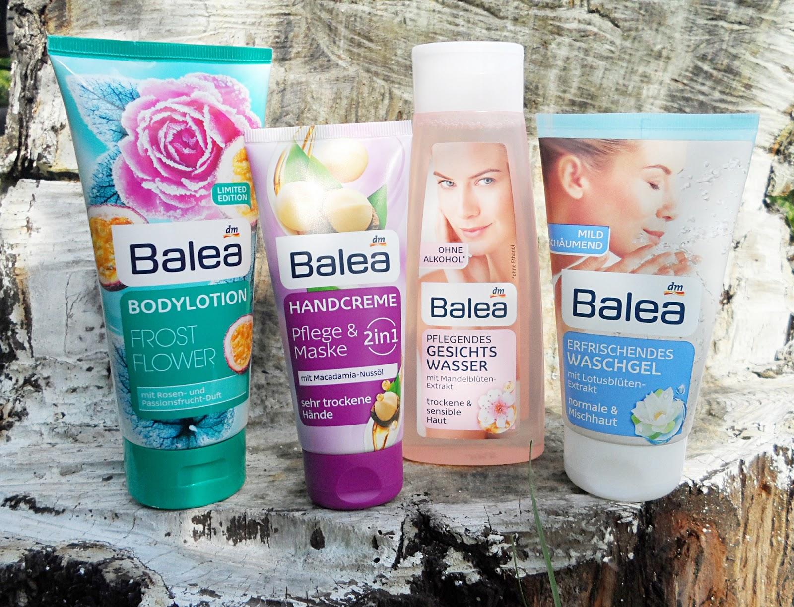 dm balea shampoo