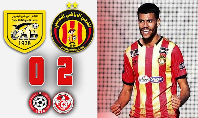 الترجي الرياضي يتفوق على النادي البنزرتي بثنائية نظيفة و يواصل هيمنته في الدوري التونسي