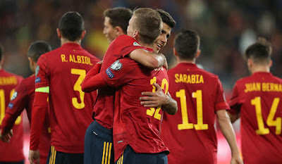 Video Cuplikan Gol: Spanyol 7-0 Malta (Kualifikasi Euro 2020)